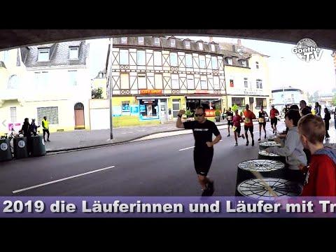Koblenz Marathon 2019 Trash Drummer der Goethe-Realschule plus in Koblenz