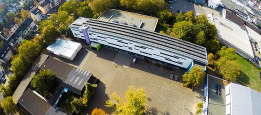 Luftbildaufnahme: Goethe-Realschule plus in Koblenz