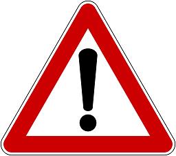 Abbildung: Stoppschild symbolsiert Schulschließung